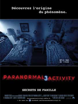 Paranormal Activity 3 - 11 x 17 Movie Poster - French Style A