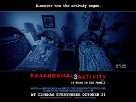 Paranormal Activity 3 - 11 x 17 Movie Poster - UK Style B