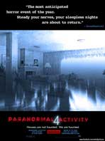 Paranormal Activity 4 - 11 x 17 Movie Poster - Style A