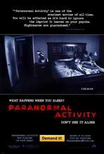 Paranormal Activity - 27 x 40 Movie Poster - Style A
