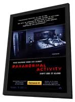 Paranormal Activity - 27 x 40 Movie Poster - Style A - in Deluxe Wood Frame
