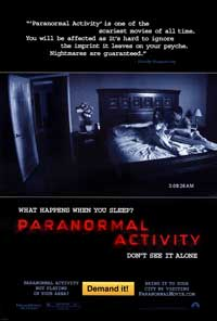 Paranormal Activity - 43 x 62 Movie Poster - Bus Shelter Style A