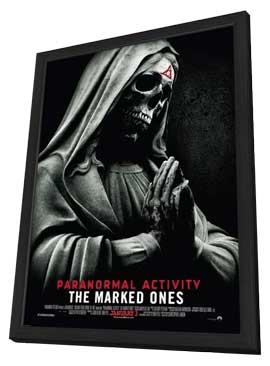 Paranormal Activity: The Marked Ones - 11 x 17 Movie Poster - Style A - in Deluxe Wood Frame