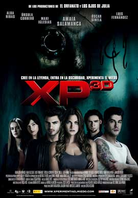 Paranormal Xperience 3D - 11 x 17 Movie Poster - Spanish Style A