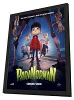 ParaNorman - 11 x 17 Movie Poster - Style A - in Deluxe Wood Frame