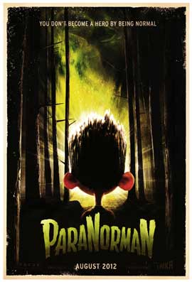 ParaNorman - DS 1 Sheet Movie Poster - Style A