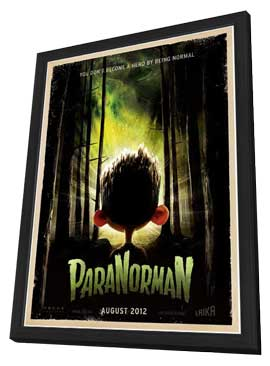 ParaNorman - 11 x 17 Movie Poster - Style B - in Deluxe Wood Frame