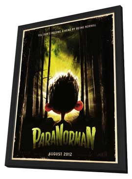 ParaNorman - 27 x 40 Movie Poster - Style B - in Deluxe Wood Frame