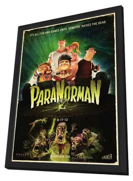 ParaNorman - 27 x 40 Movie Poster - Style C - in Deluxe Wood Frame