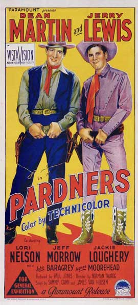 Pardners - 13 x 30 Movie Poster - Australian Style A