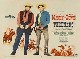Pardners - 22 x 28 Movie Poster - Half Sheet Style B