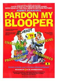 Pardon My Blooper - 11 x 17 Movie Poster - Style A