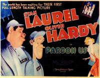 Pardon Us - 11 x 14 Movie Poster - Style A