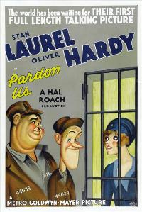 Pardon Us - 43 x 62 Movie Poster - Bus Shelter Style A