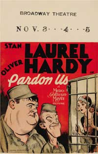 Pardon Us - 14 x 22 Movie Poster - Style A