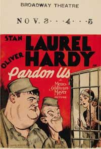 Pardon Us - 27 x 40 Movie Poster - Style B