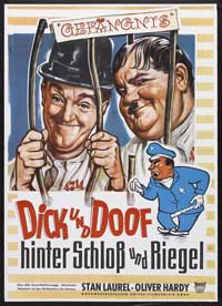 Pardon Us - 11 x 17 Movie Poster - German Style A