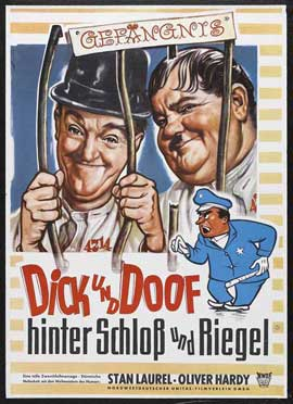 Pardon Us - 27 x 40 Movie Poster - German Style A