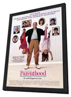 Parenthood - 11 x 17 Movie Poster - Style B - in Deluxe Wood Frame