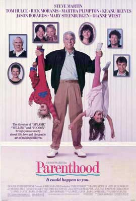 Parenthood - 27 x 40 Movie Poster - Style A
