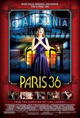 Paris 36 - 11 x 17 Movie Poster - Style A