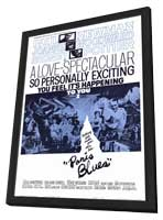 Paris Blues - 11 x 17 Movie Poster - Style A - in Deluxe Wood Frame