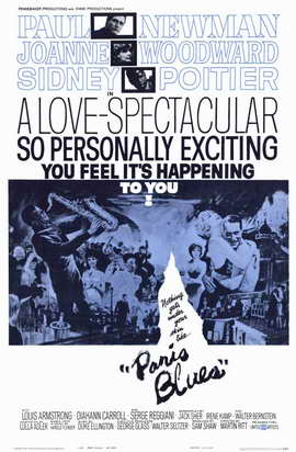 Paris Blues - 11 x 17 Movie Poster - Style A