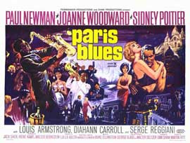 Paris Blues - 11 x 17 Movie Poster - Style B