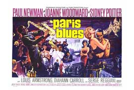 Paris Blues - 27 x 40 Movie Poster - Style A