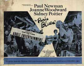 Paris Blues - 22 x 28 Movie Poster - Half Sheet Style A