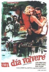 Paris Blues - 11 x 17 Movie Poster - Spanish Style A