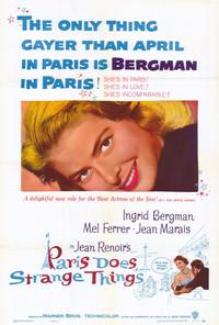 Paris Does Strange Things - 27 x 40 Movie Poster - Style A