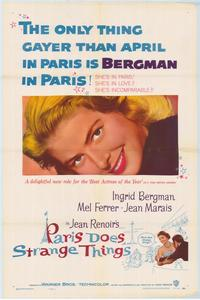 Paris Does Strange Things - 43 x 62 Movie Poster - Bus Shelter Style A