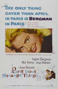 Paris Does Strange Things - 27 x 40 Movie Poster - Style B