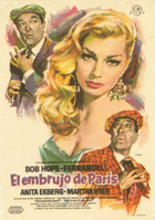 Paris Holiday - 11 x 17 Movie Poster - Spanish Style A