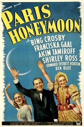 Paris Honeymoon - 11 x 17 Movie Poster - Style A