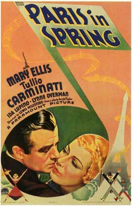 Paris in Spring - 11 x 17 Movie Poster - Style A