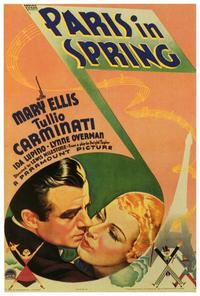 Paris in Spring - 27 x 40 Movie Poster - Style A