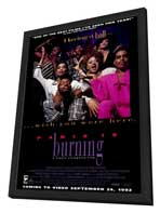 Paris Is Burning - 27 x 40 Movie Poster - Style A - in Deluxe Wood Frame