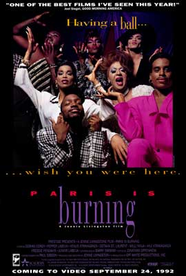 Paris Is Burning - 27 x 40 Movie Poster - Style A