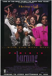 Paris Is Burning - 43 x 62 Movie Poster - Bus Shelter Style A