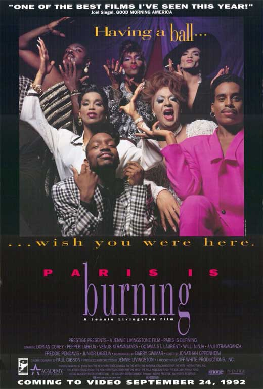 paris is burning movie posters from movie poster shop