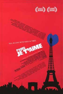 Paris Je T'aime - 11 x 17 Movie Poster - Style A