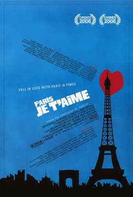 Paris Je T'aime - 11 x 17 Movie Poster - Style B
