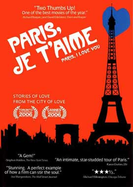 paris je t 39 aime movie posters from movie poster shop. Black Bedroom Furniture Sets. Home Design Ideas
