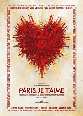 Paris Je T'aime - 11 x 17 Movie Poster - Spanish Style A