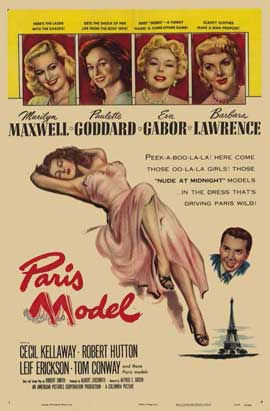 Paris Model - 11 x 17 Movie Poster - Style A