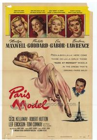 Paris Model - 27 x 40 Movie Poster - Style A