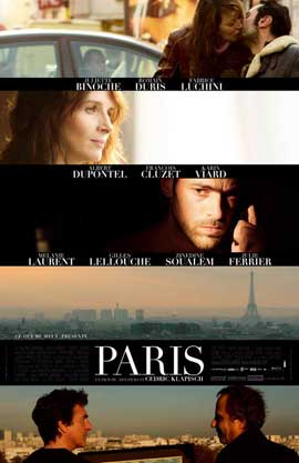 Paris - 11 x 17 Movie Poster - French Style A