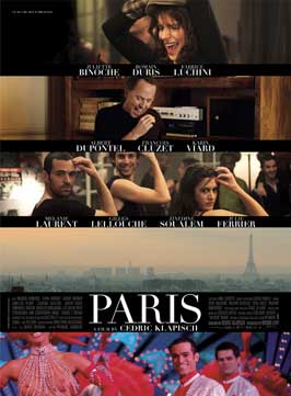 Paris - 11 x 17 Movie Poster - UK Style E